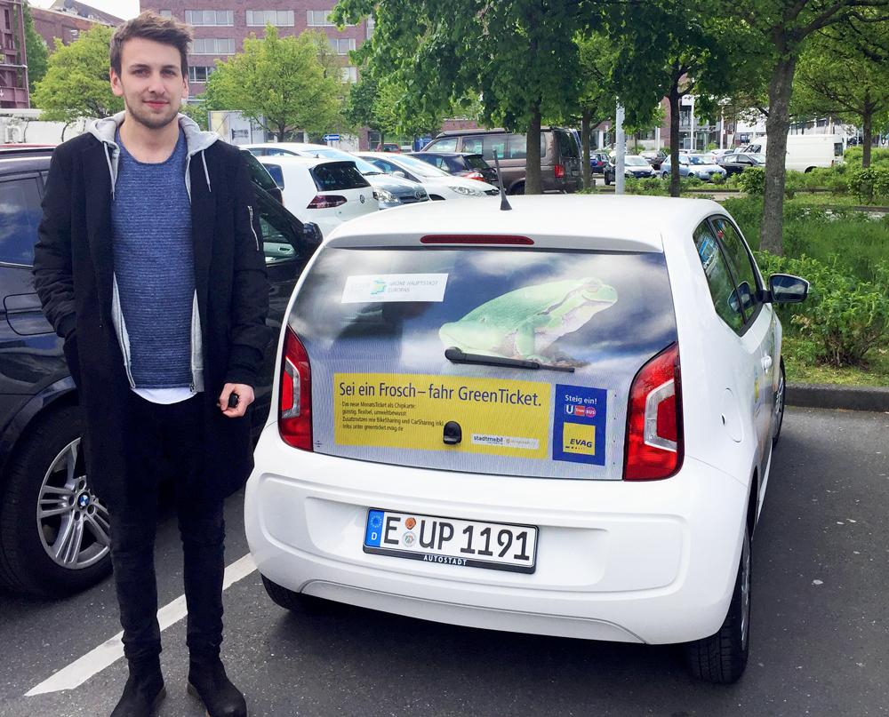 Evag erfahrungsbericht tom testet carsharing mit dem for Cars deckenlampe