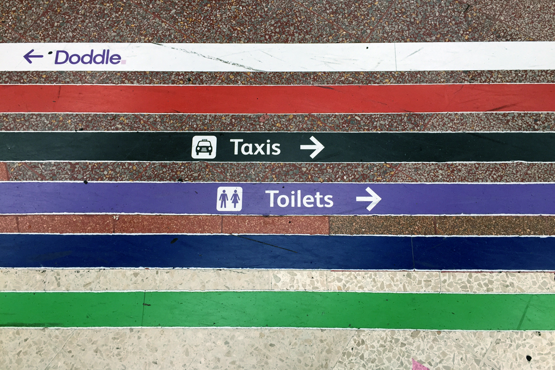 U-Bahn - London Leitsystem
