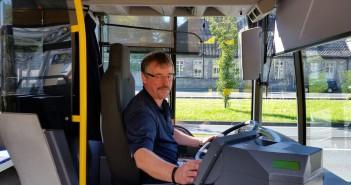 Unterwegs mit Busfahrer Uwe Barz