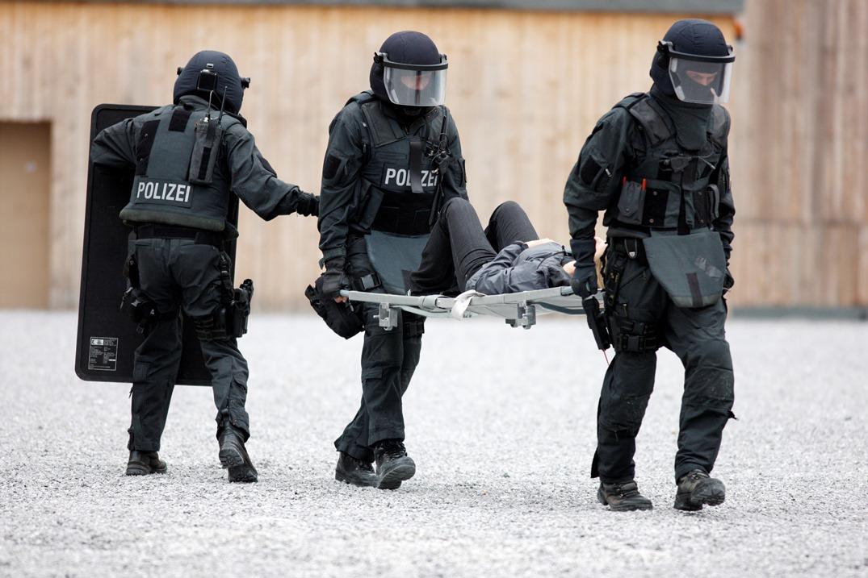 Polizei NRW Spezialeinheiten, SEK, Spezialeinsatzkommando im Auftrag des MIK NRW, Foto: Jochen Tack