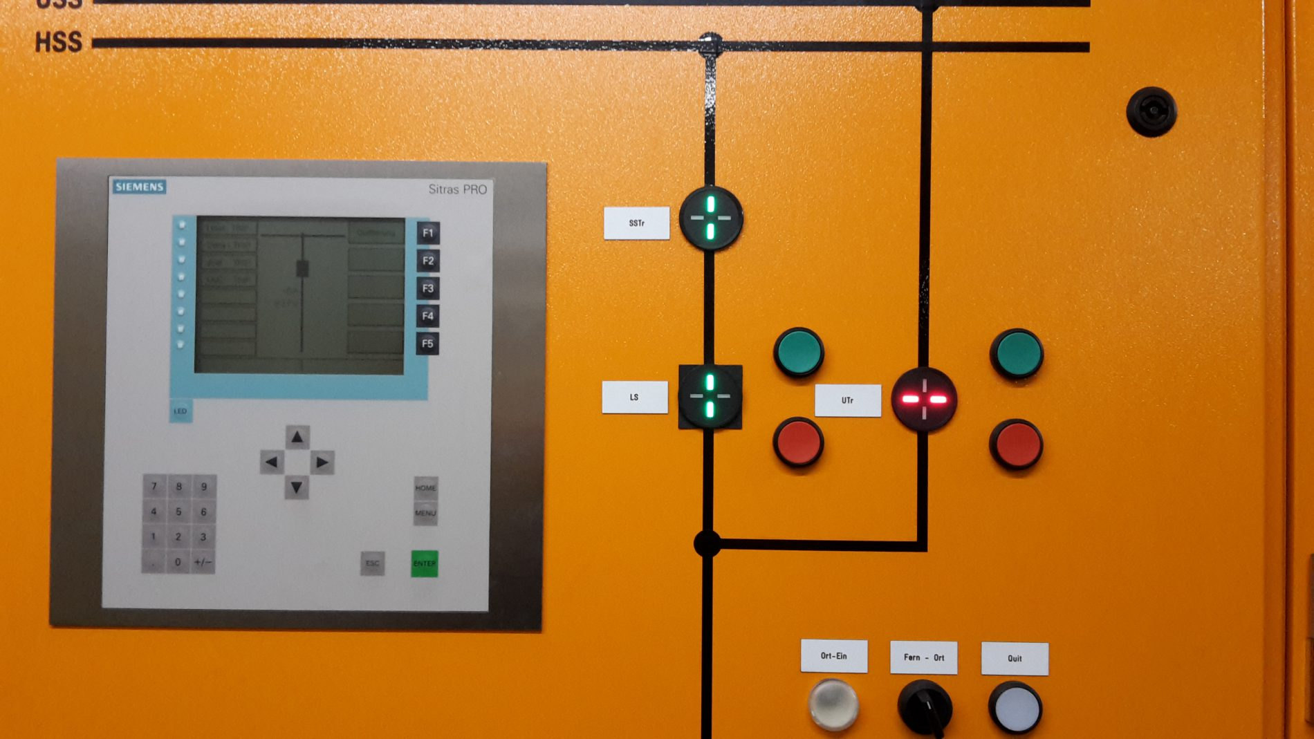 Die Gleichstromanlage verteilt den Bahnstrom in die Oberleitungen.