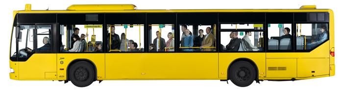 Fahrgemeinschaft fuer das Klima: Die Klimahelden im EVAG Bus (www.klimahelden.de)