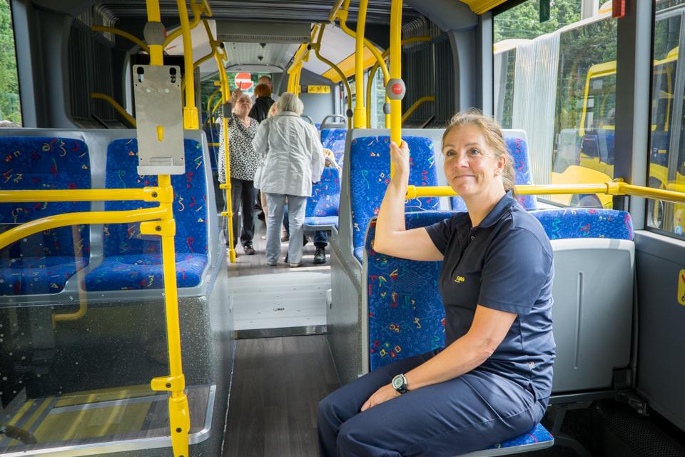 Seniorebtraining bei der Ruhrbahn