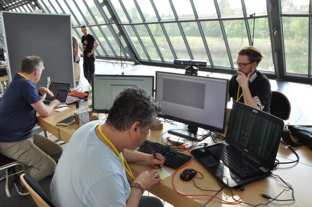 Hackathon Arbeitsphase
